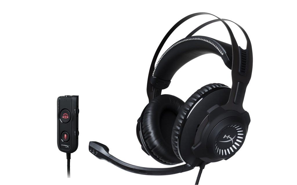 HyperX Revolver S Gaming Headset with Audio Dongle