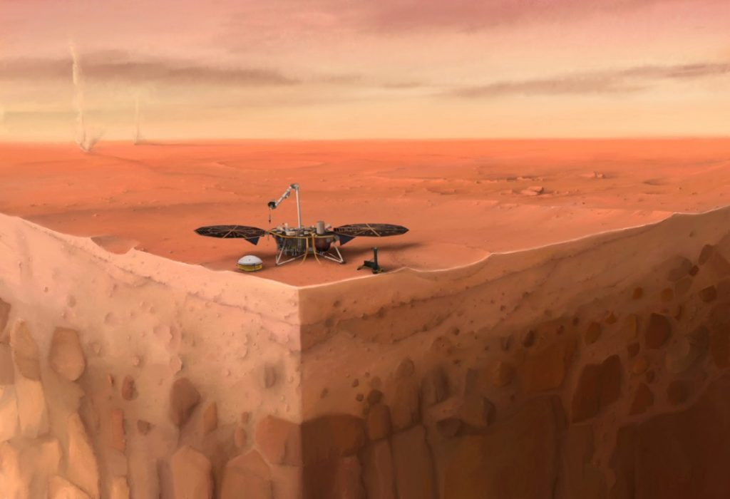 information about the interior of Mars