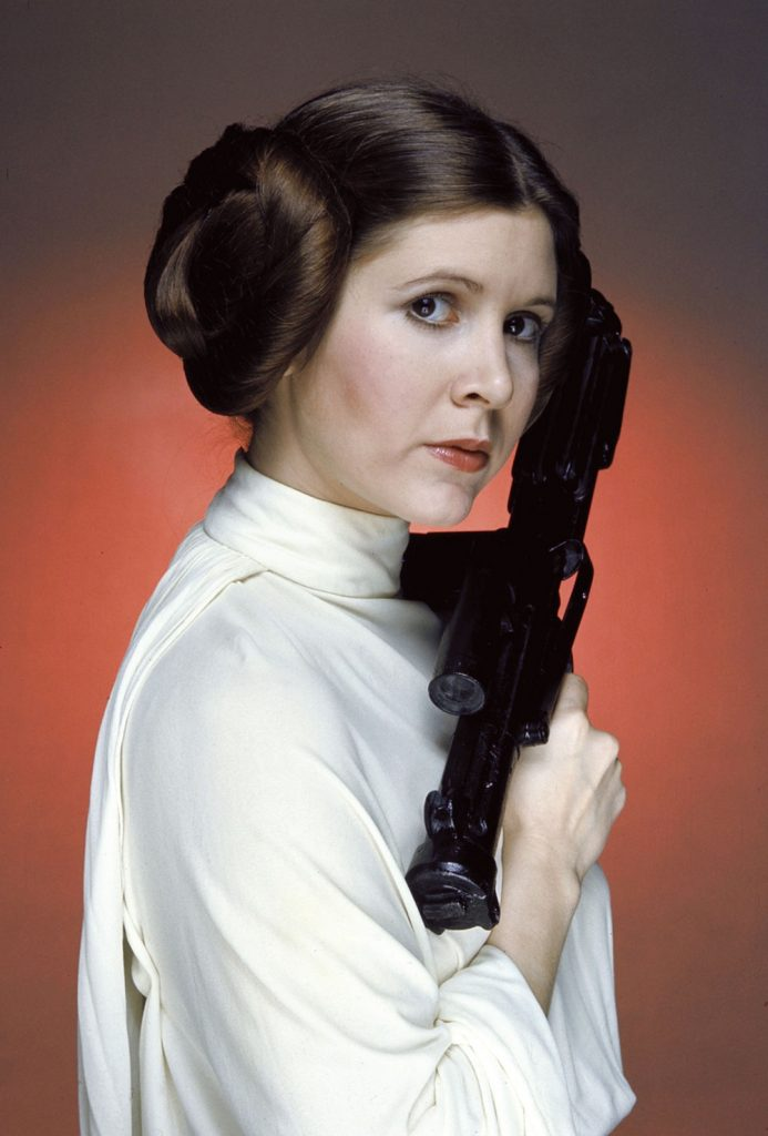 Muere Carrie Fisher, princesa Leia en Star Wars