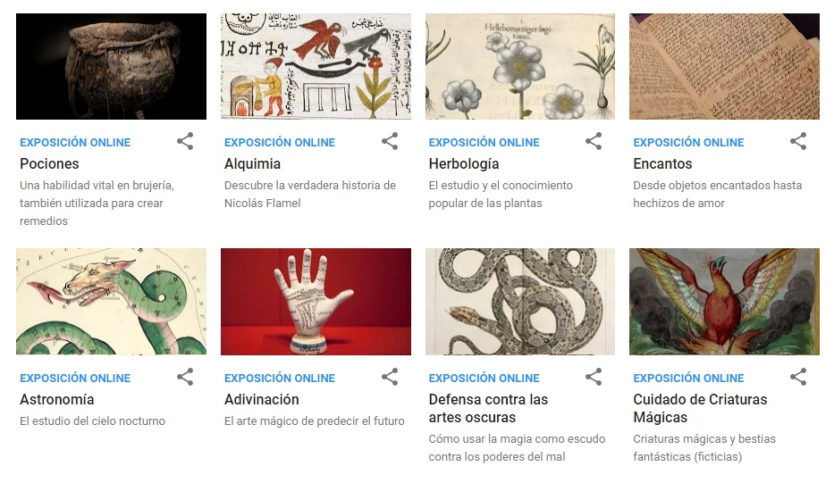 Google presenta mágica exposición virtual de Harry Potter